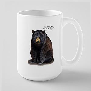 American Black Bear Large Mug