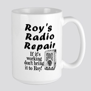 Roy's Radio Repair Large Mug