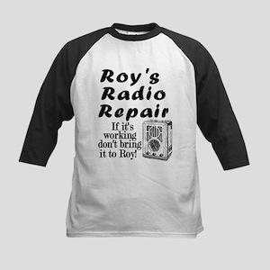 Roy's Radio Repair Kids Baseball Jersey