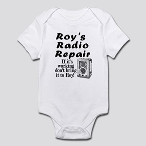 Roy's Radio Repair Infant Bodysuit