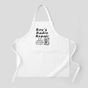 Roy's Radio Repair Apron
