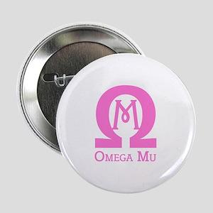"""Omega MU - Pink - 2.25"""" Button"""