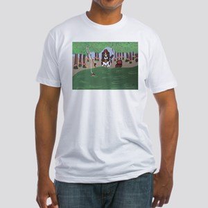 Nuthins Biting Fitted T-Shirt