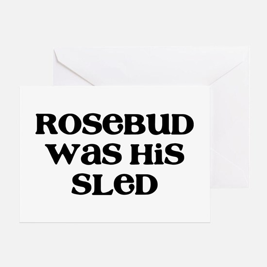 Rosebud Greeting Card