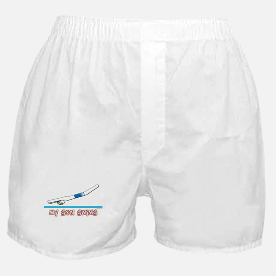My Son Swims Boxer Shorts