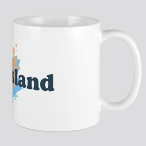 Oak Island NC - Seashells Design Mug