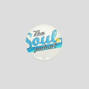 Soul Patrol Blue Mini Button