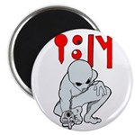 """Wanted Poster Alien 2.25"""" Magnet (10 pack)"""