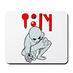 Wanted Poster Alien Mousepad