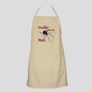 Deadlier than the male, spider Apron