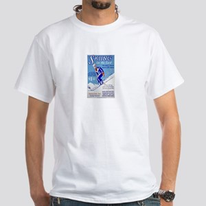 Skiing Classic Design t-shirt