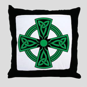 Celtic Cross Throw Pillow