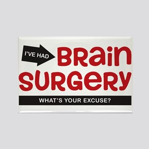Brain Surgery Rectangle Magnet
