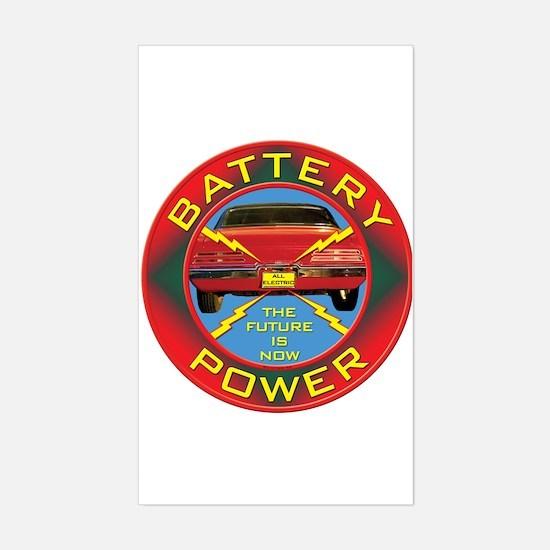 Battery Power Sticker (Rectangle)