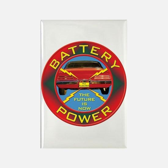 Battery Power Rectangle Magnet