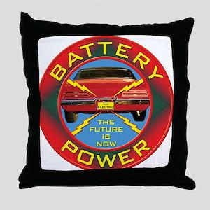 Battery Power Throw Pillow