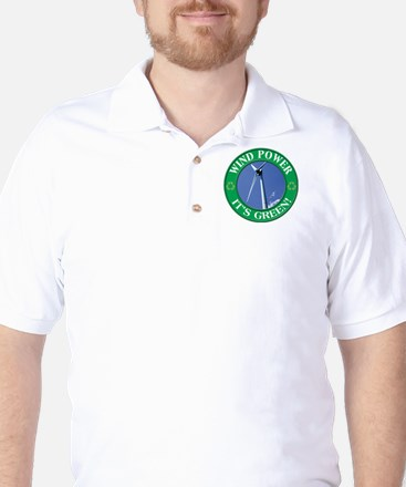 Clean and Green Golf Shirt