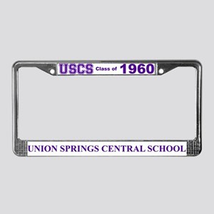 USCS Class of '60 License Plate Frame