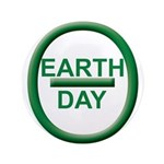 "Earth Day 3.5"" Button"