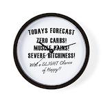Todays Forecast Wall Clock