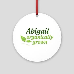 Organic Abigail Ornament (Round)