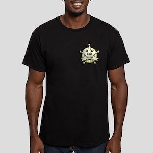HRIS Officer Men's Fitted T-Shirt (dark)