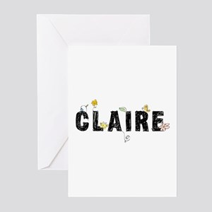 Claire floral Greeting Cards (Pk of 20)