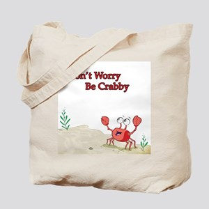 Be Crabby Tote Bag
