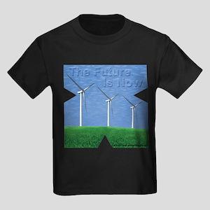 The Future is now Kids Dark T-Shirt