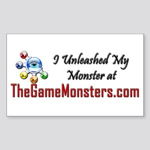 Game Monsters Rectangle Sticker