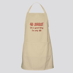 30th Attitude Sucks Apron