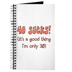 30th Attitude Sucks Journal