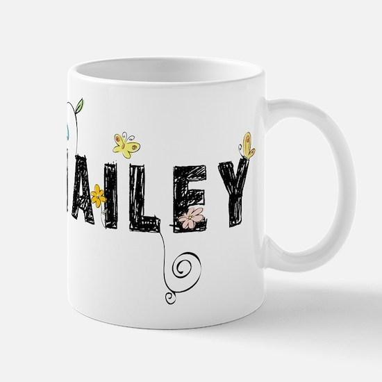 Hailey Floral Mug