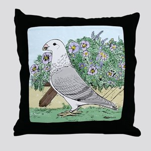 American Show Racer #8 Throw Pillow