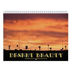 Desert Beauty Wall Calendar