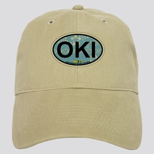 Oak Island NC - Oval Design Cap