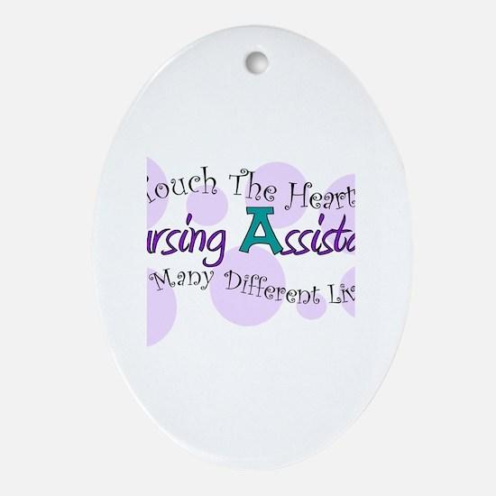 Nursing Assistant Ornament (Oval)