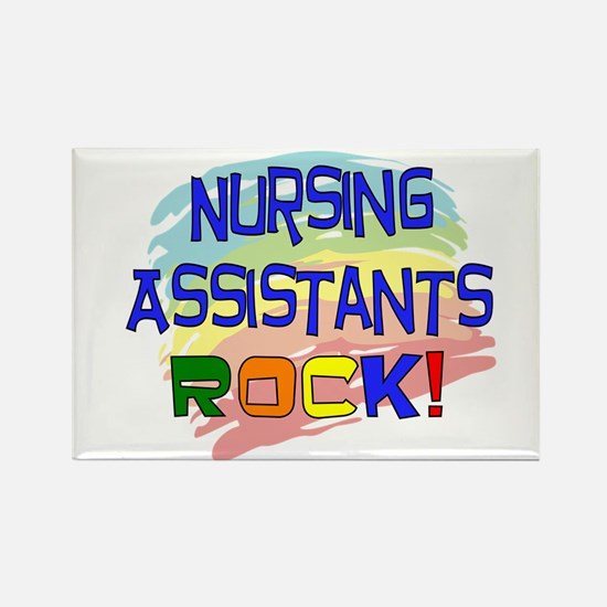 Nursing Assistant Rectangle Magnet