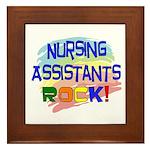 Nursing Assistant Framed Tile
