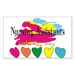 Nursing Assistant Sticker (Rectangle 10 pk)