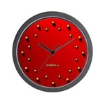 Red Light Curious Wall Clock