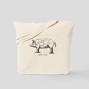 Eat Me Pork Dark Tote Bag