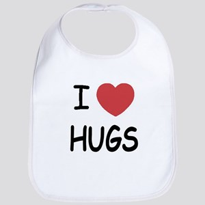 I heart hugs Bib