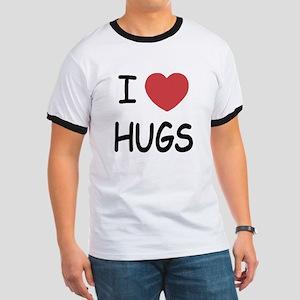 I heart hugs Ringer T