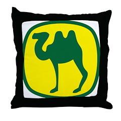John Camel Throw Pillow