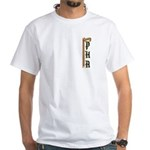 Masonic Cane (PHA) White T-Shirt
