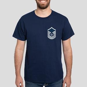 SMSgt Pre-1992 Stripes Dark T-Shirt 2