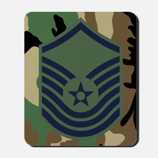 SMSgt Old Stripes 6th Mousepad