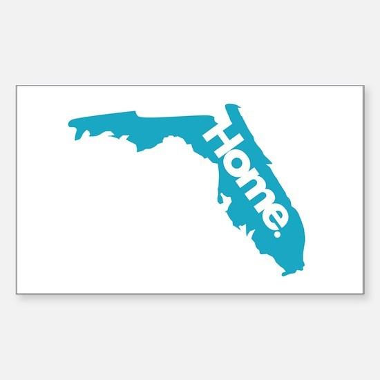 Home - Florida Sticker (Rectangle)