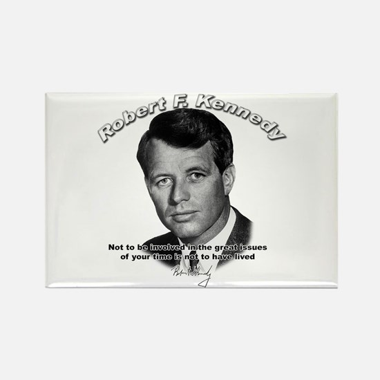 Robert F. Kennedy 02 Rectangle Magnet